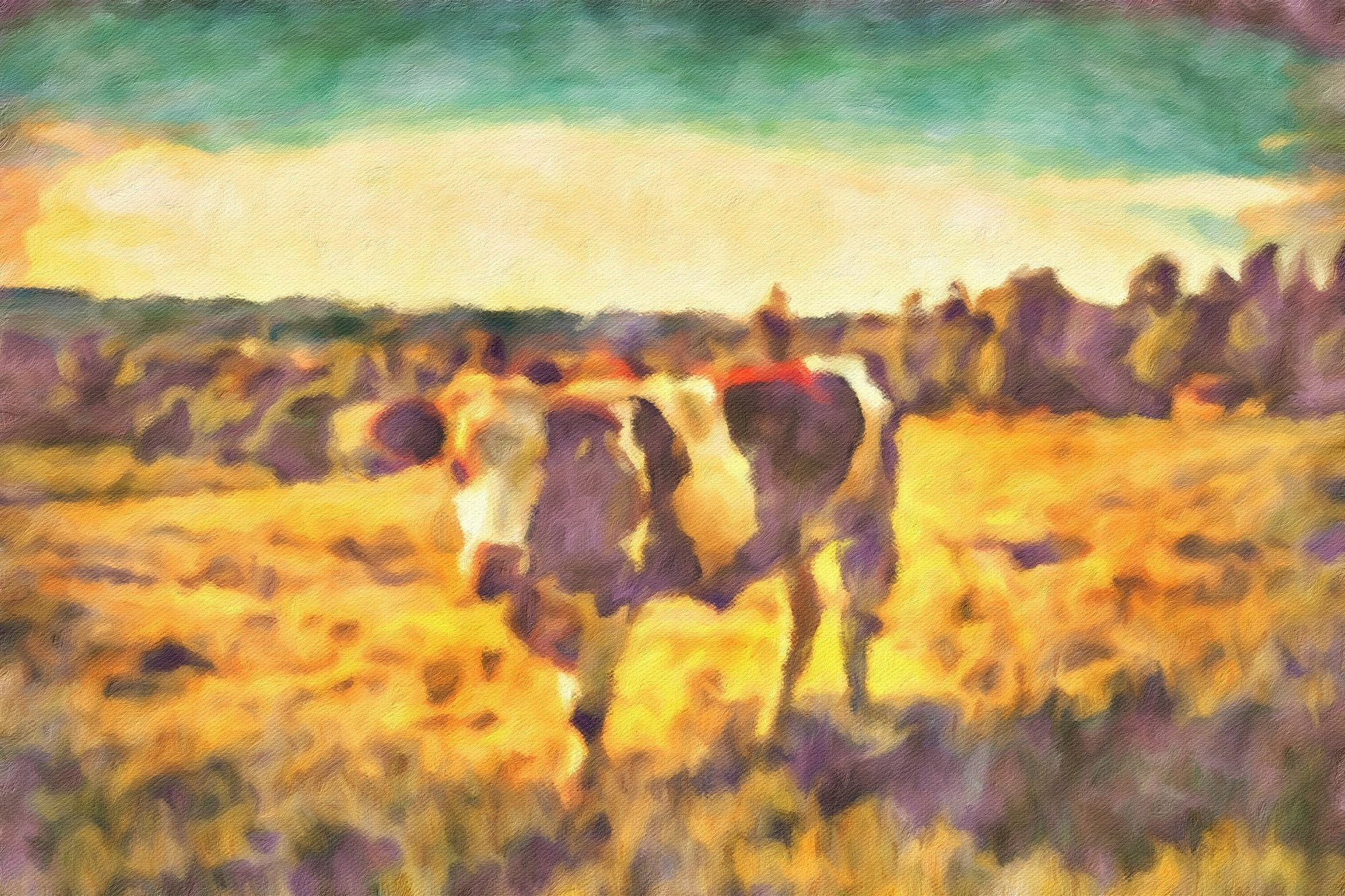Cows No. 9, Reworked