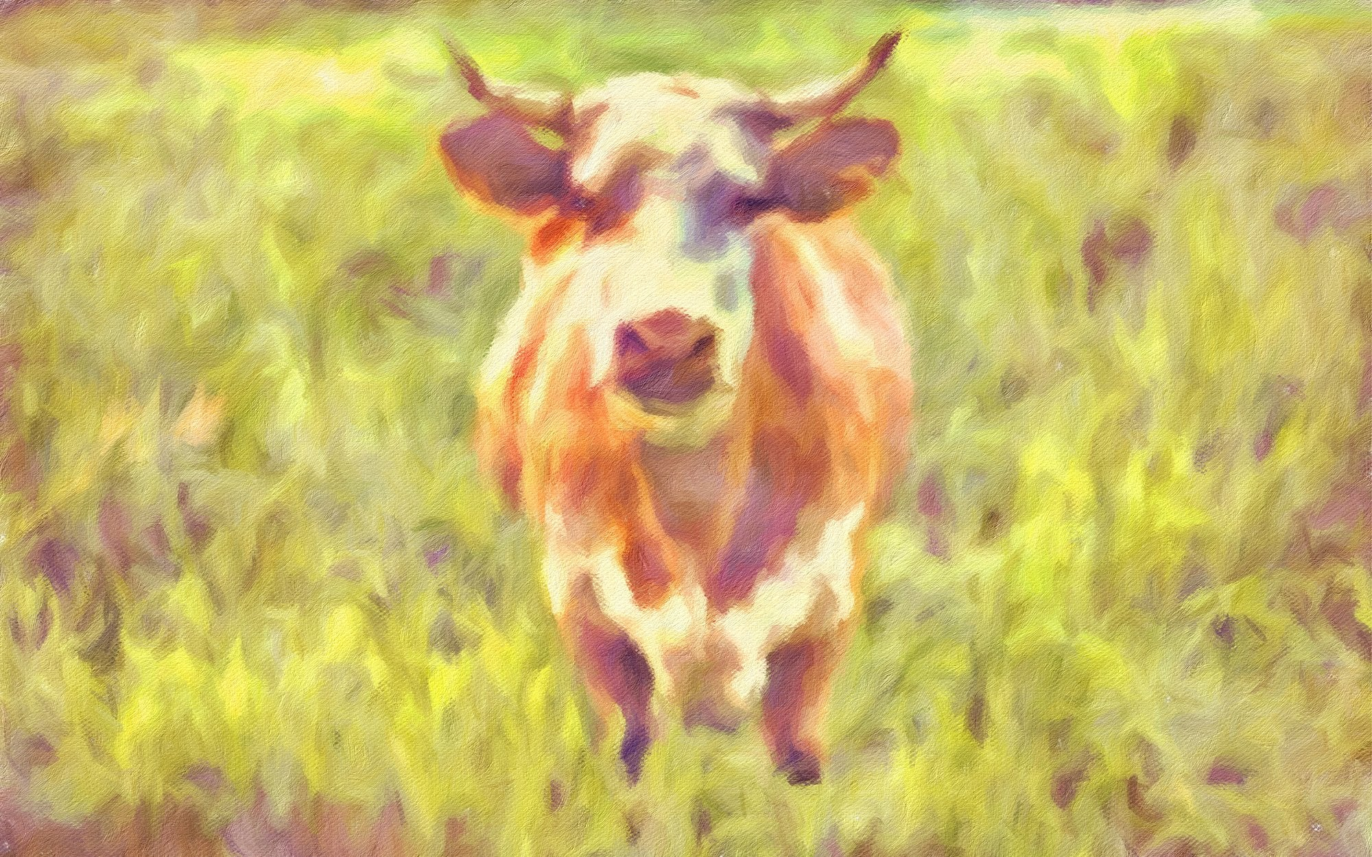 Cows No. 11, Reworked