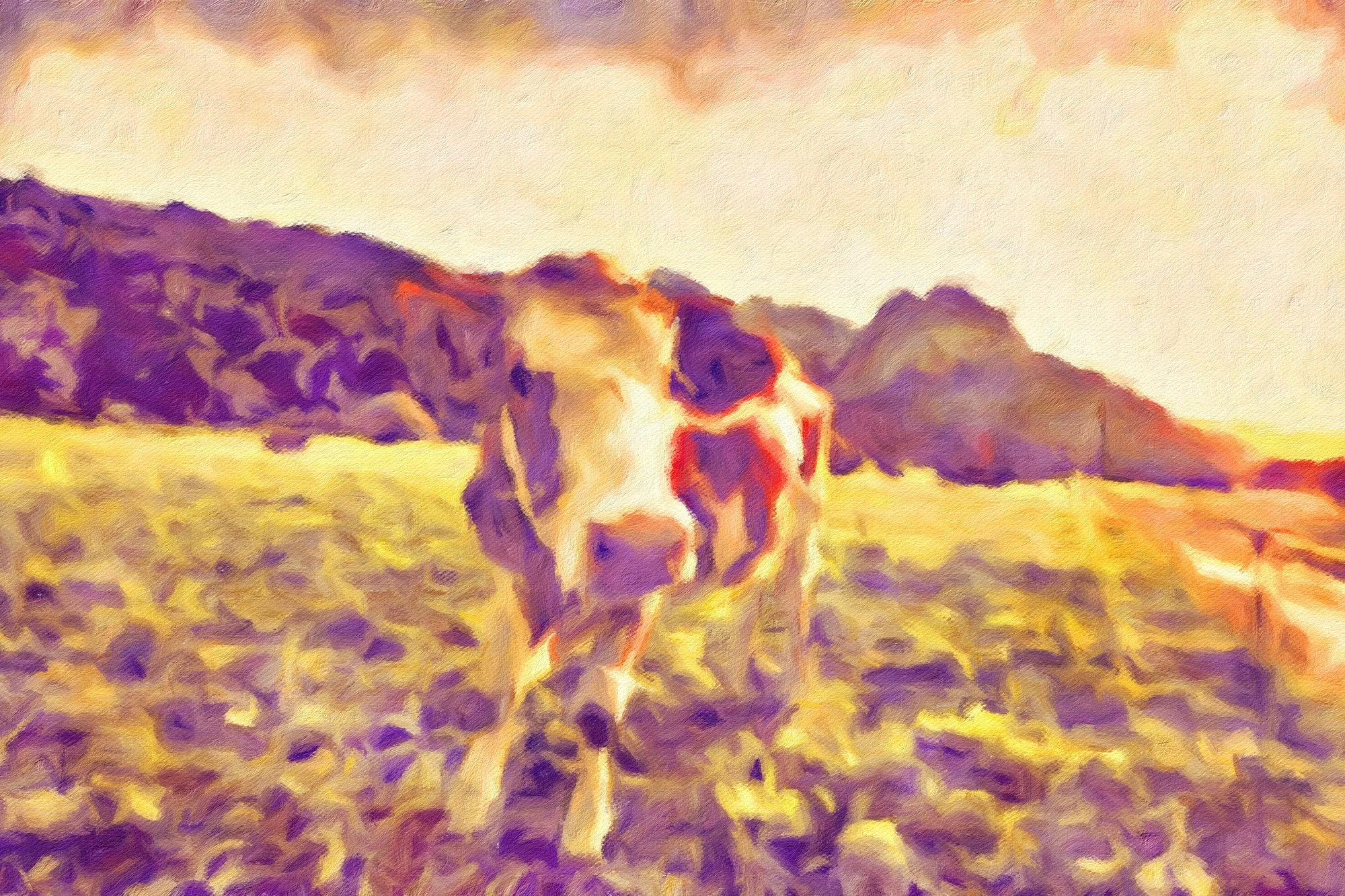 Cows No. 14, Reworked