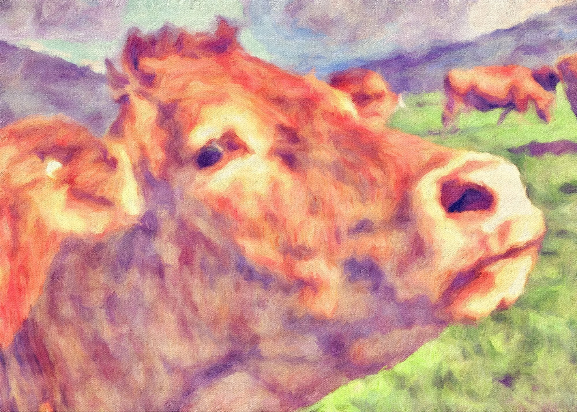 Cows No. 20, Reworked