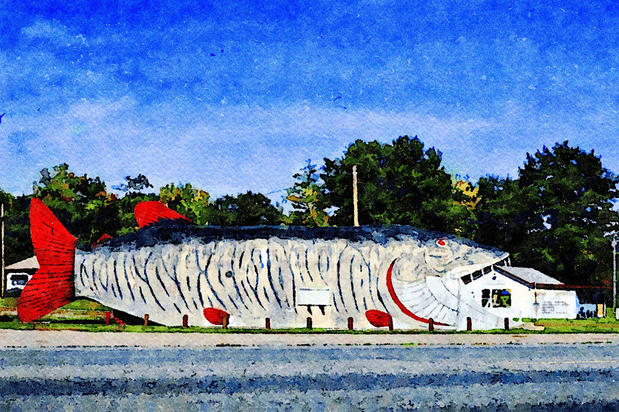Big Fish Supper Club, Route 2, Bena, Minnesota, Reworked, Series 1