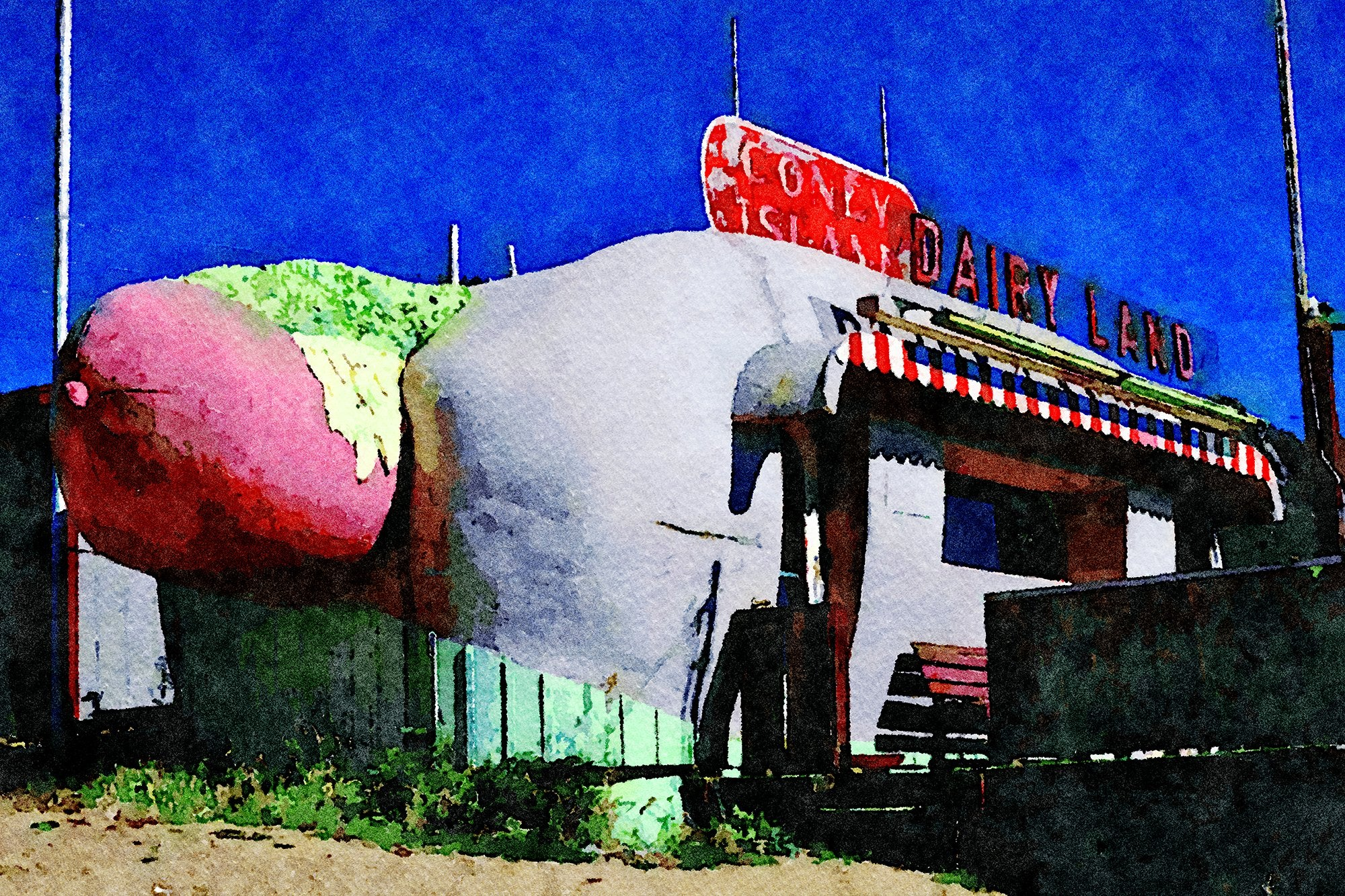 Coney Island Dairyland, Route 285, Aspen Park, Colorado, Reworked, Series 1