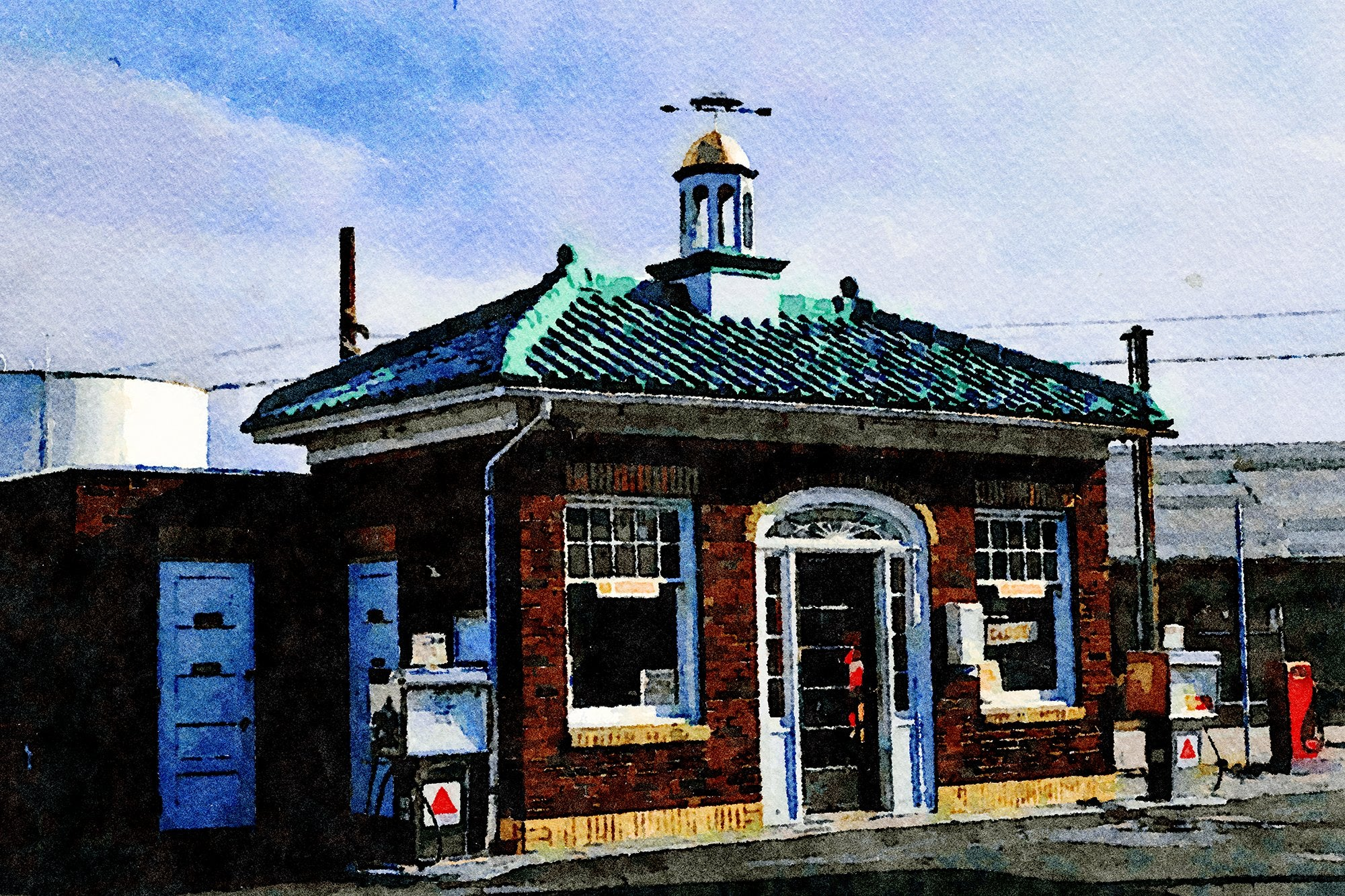 Leahy's Citgo Gas Station, Danbury, Connecticut, Reworked, Series 1