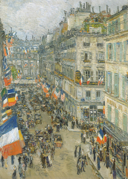 July Fourteenth, Rue Daunou, 1910