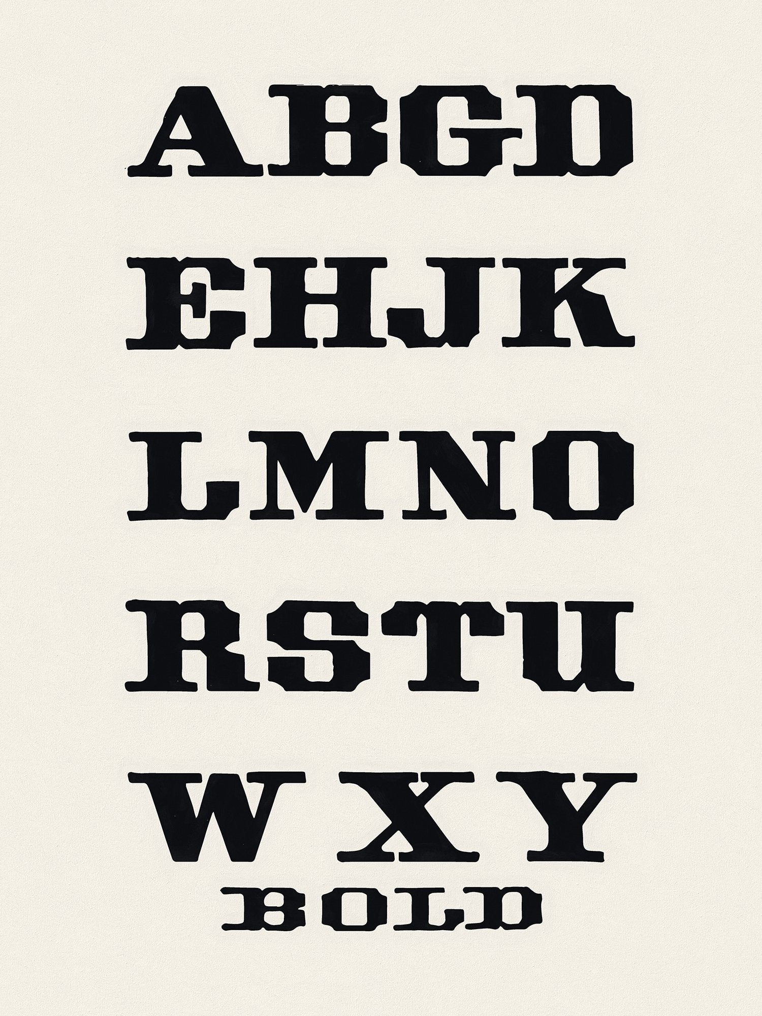 Studio Handbook No. 246, New Alphabets by Welo, Reworked, Series 2