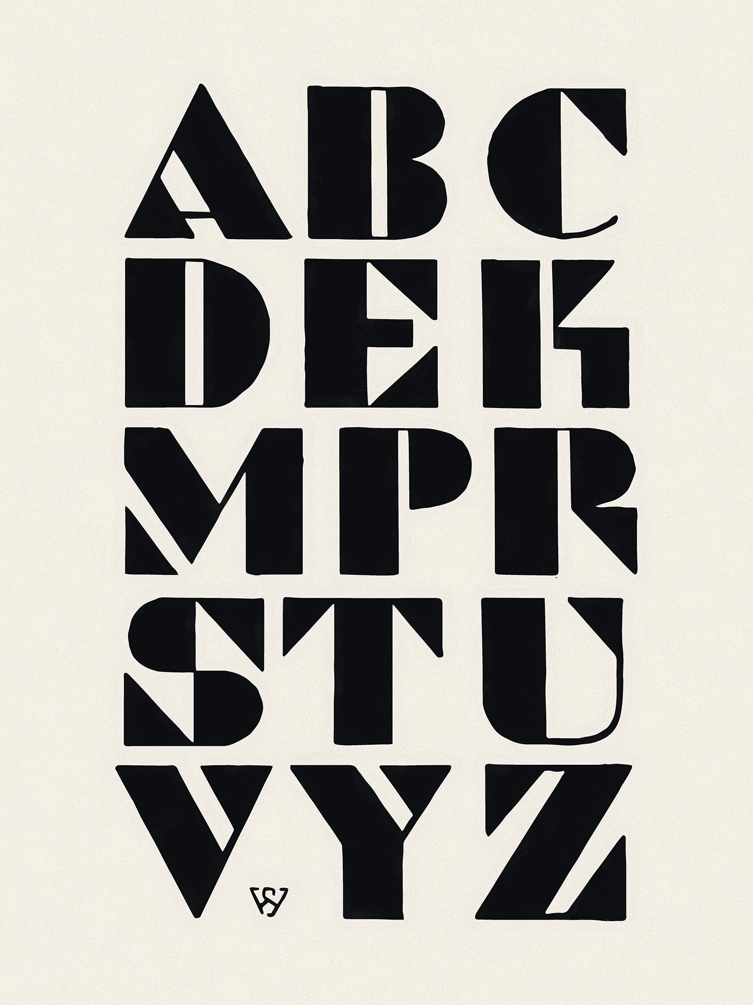 Studio Handbook No. 250, New Alphabets by Welo, Reworked, Series 2