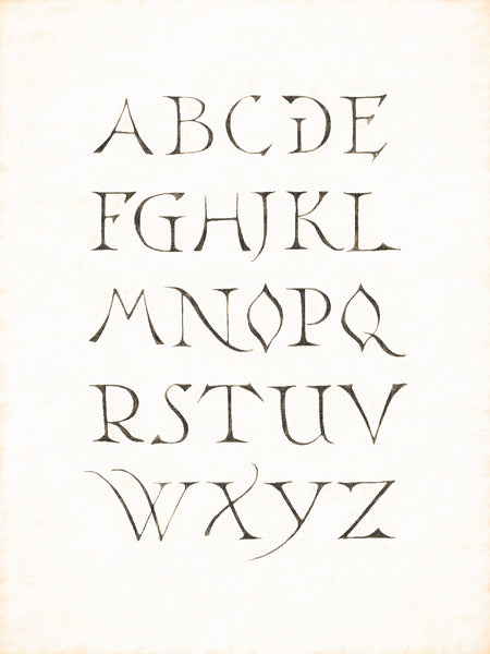 Alphabets Old and New, Illustration 103, Stone, Bingen, 1576-1598-1618, Reworked, Series 1