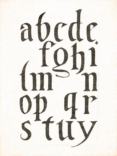 Alphabets Old and New, Illustration 109, Brass, Bamberg, 1613, Reworked, Series 1
