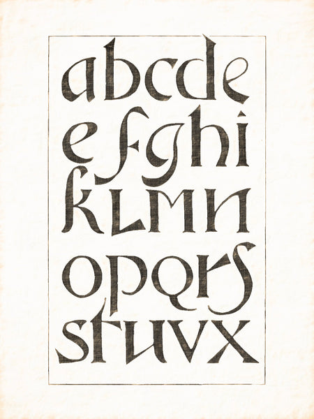 Alphabets Old and New, Illustration 110, Stone, Osnabruck, 1742 56, Reworked, Series 1