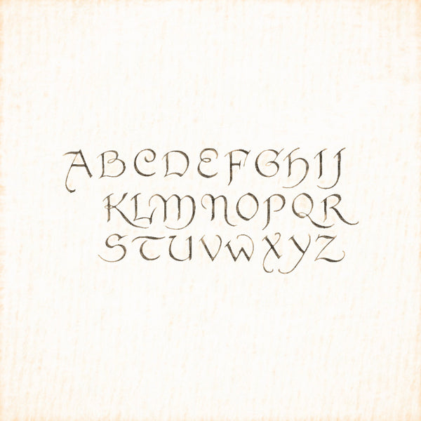 Alphabets Old and New, Illustration 132, Penwork, R. K. Cowtan, Reworked, Series 1