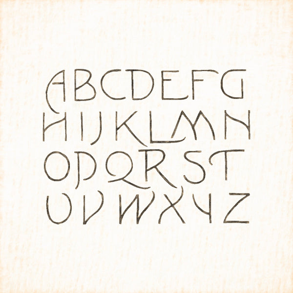 Alphabets Old and New, Illustration 159, Lewis Foreman Day, Reworked, Series 1