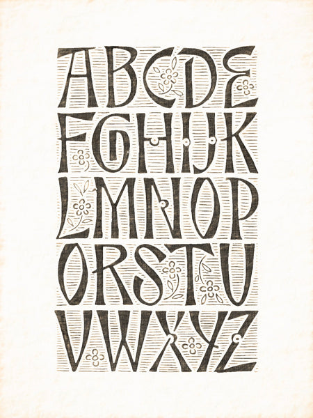 Alphabets Old and New, Illustration 174, Engraving on Silver, Lewis Foreman Day, Reworked, Series 1
