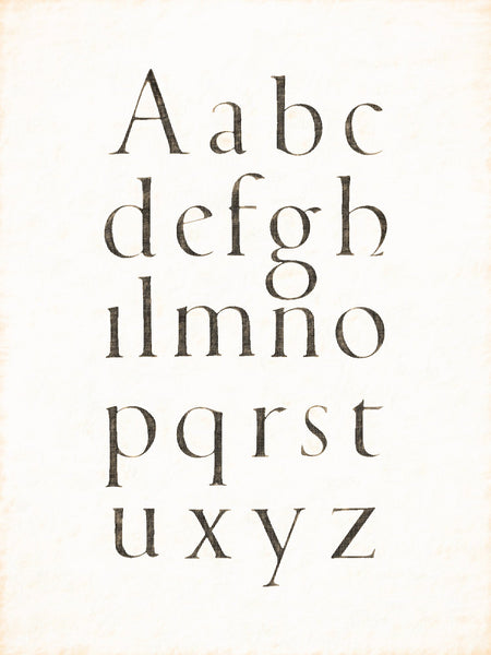 Alphabets Old and New, Illustration 94, Italian, G. F. Cresci, 1570, Reworked, Series 1