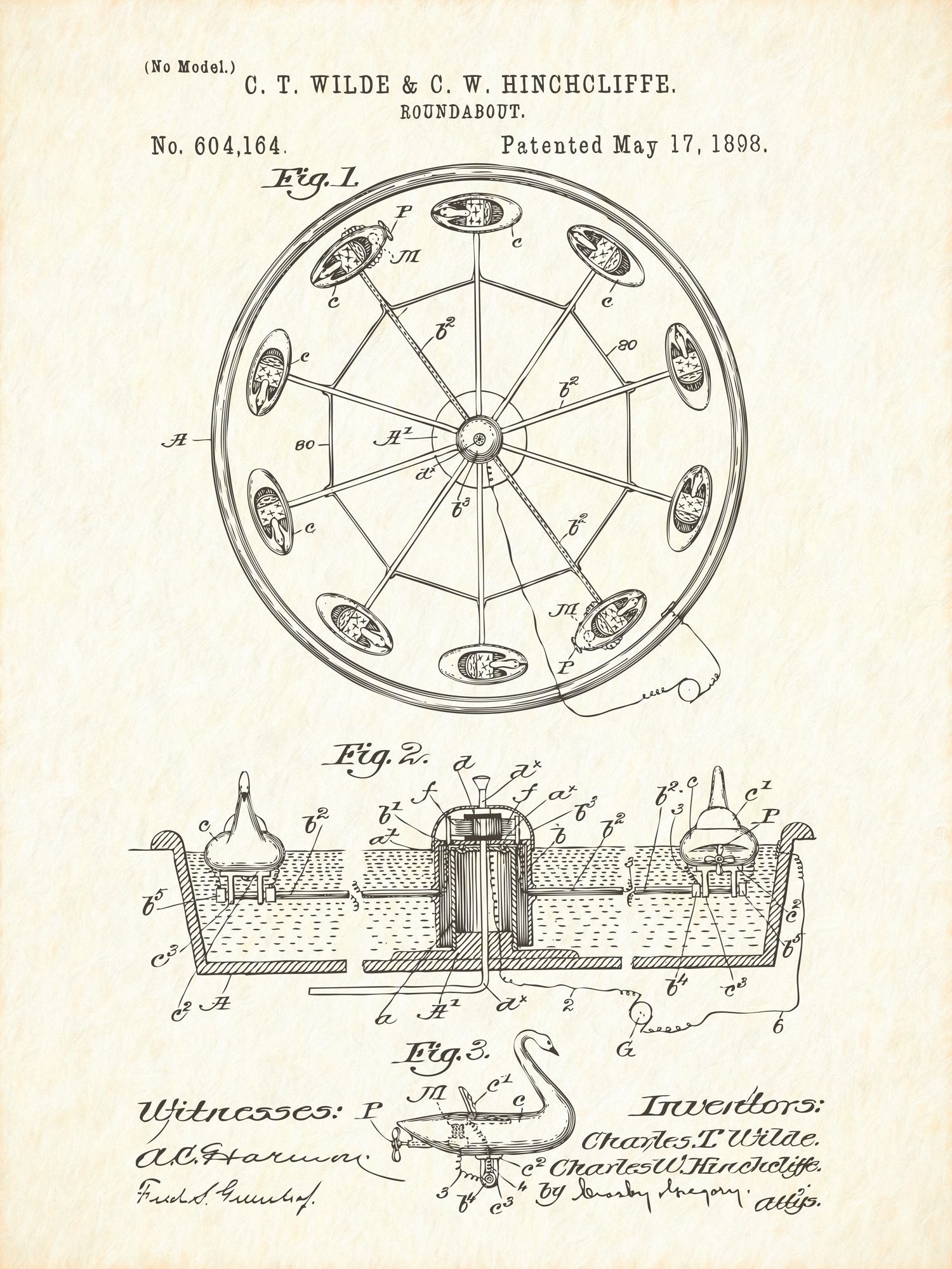 U.S. Patent No. 604164-1 Roundabout Reworked, Series 1