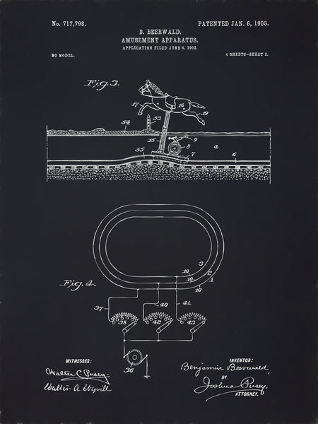U.S. Patent No. 717798-2 Amusement Apparatus Reworked, Series 2
