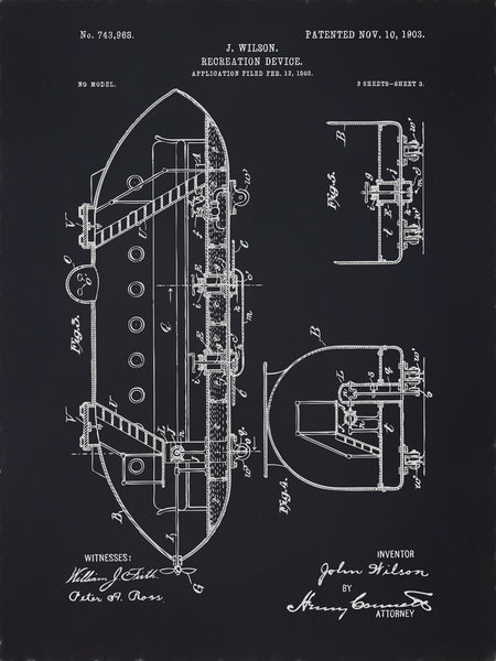 U.S. Patent No. 743968-3 Recreation Device Reworked, Series 2