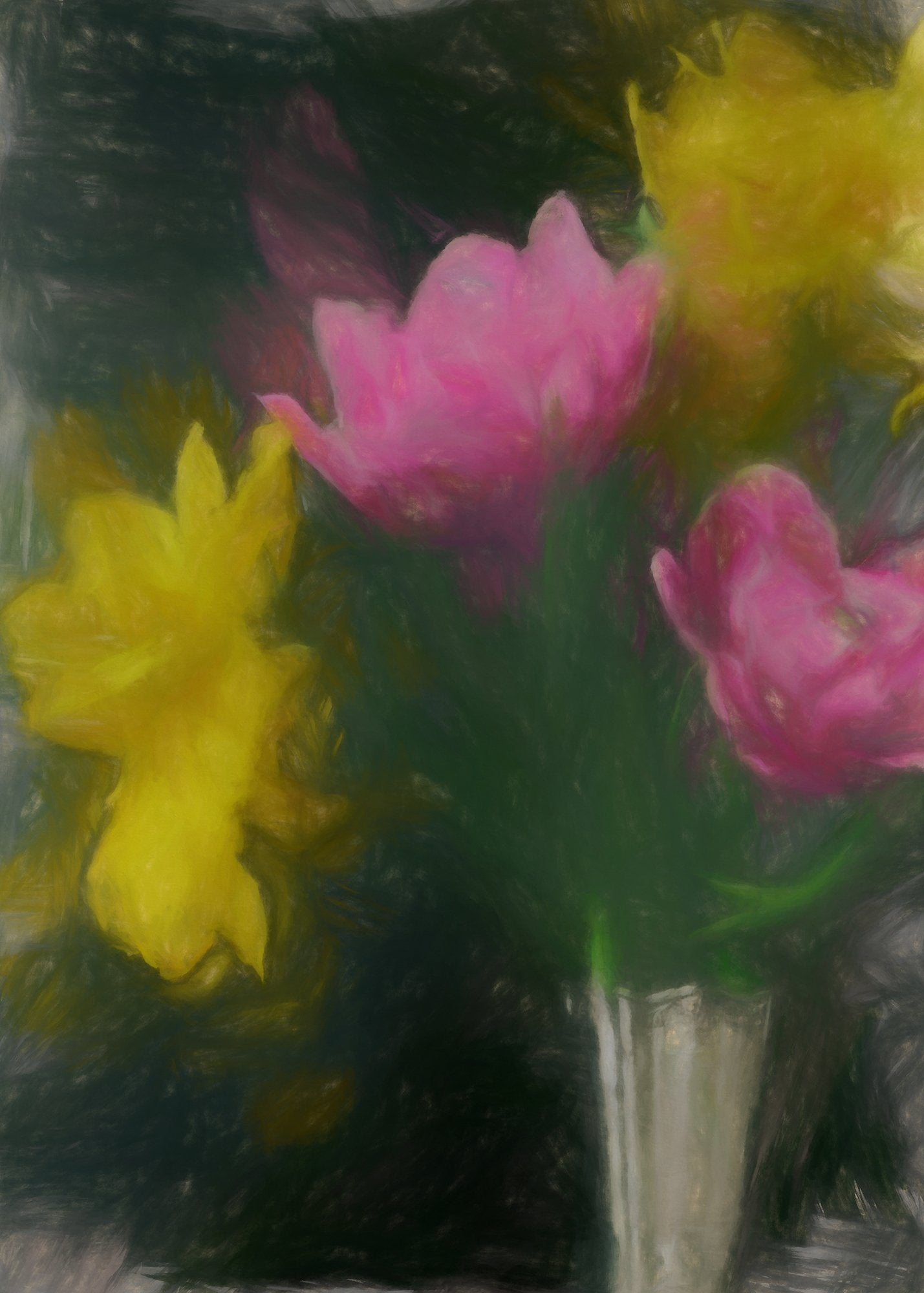 Early Double Tulip, Reworked, Series 2