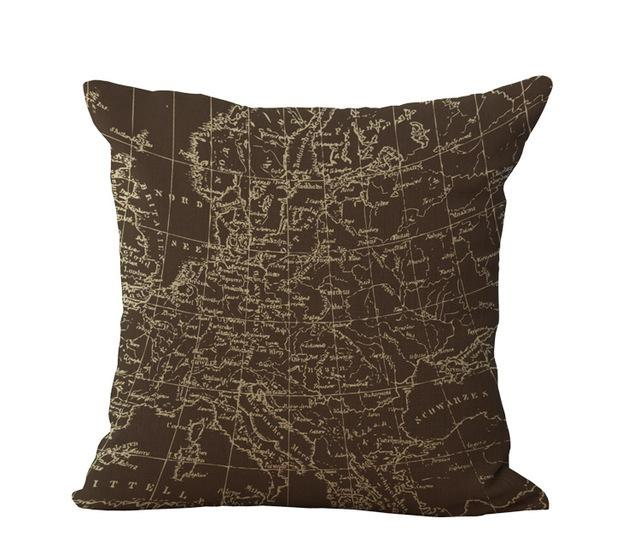 World map pillow ava pillow world map pillow gumiabroncs Image collections