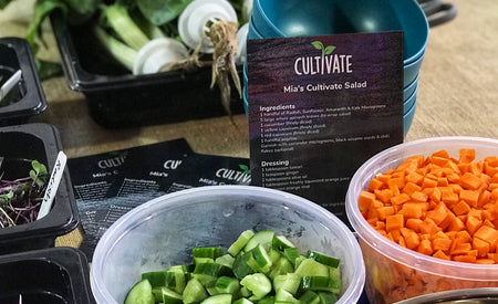 Recipe 5: Mia's Cultivate Salad from Farmwall