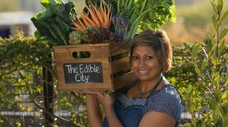 Indira Naidoo - The Edible Balcony