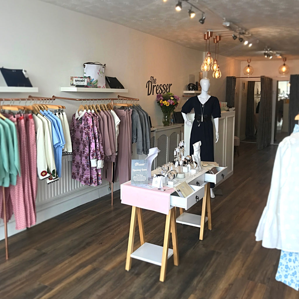 The Dresser Boutique Banbridge Interior