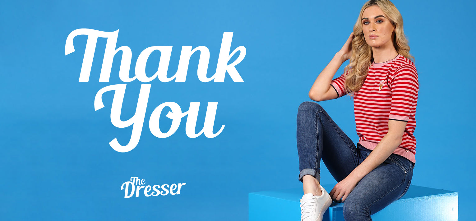 Thank You | The Dresser Boutique Banbridge Northern Ireland