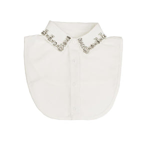 White Molly Collar Bib