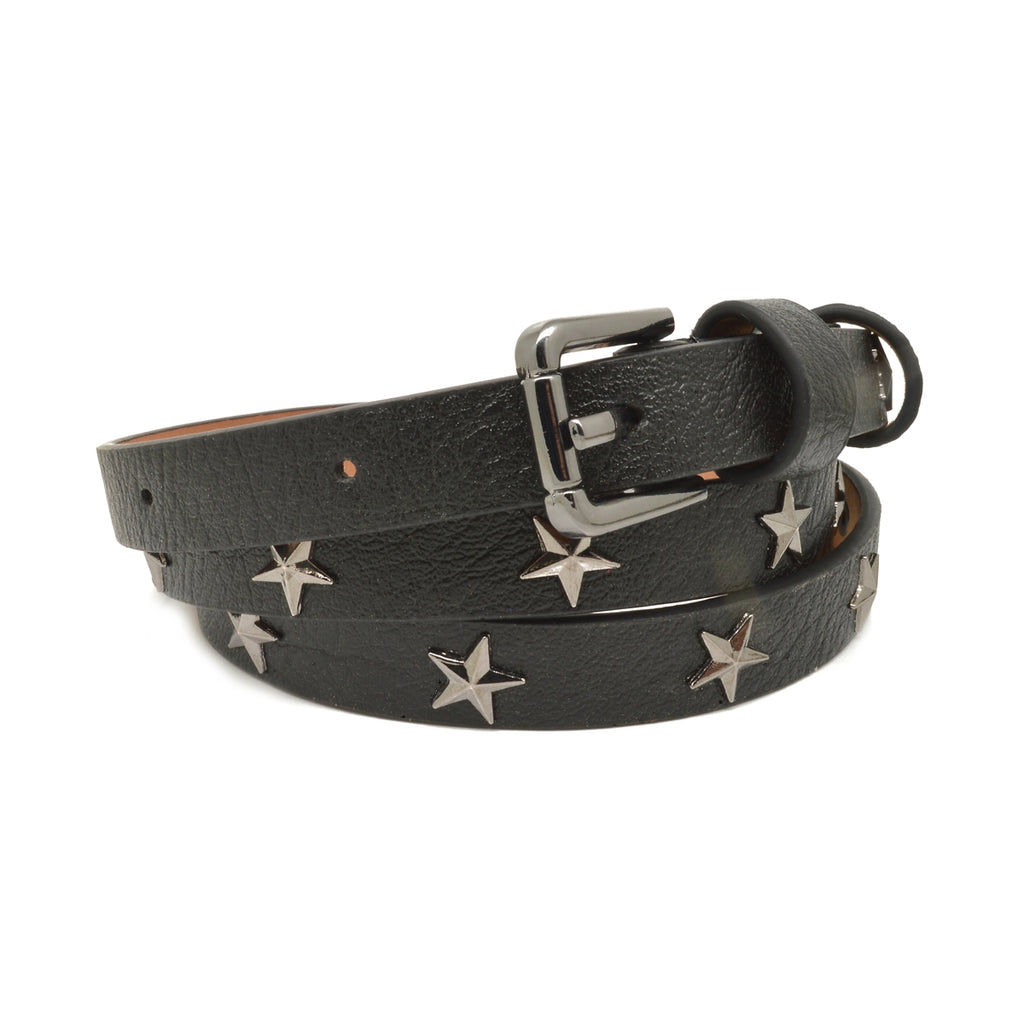 Star Studded Belt Black