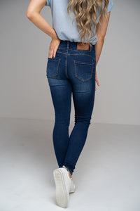 Candy High-Waisted Tummy Tuck Skinny Jeans