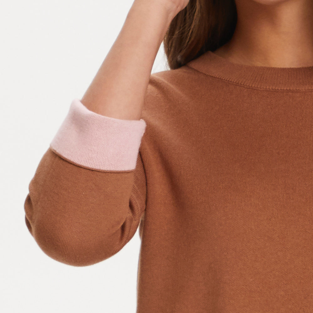 Chocolate/Pink Jumper