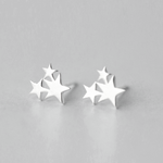 Cluster Trio Star Earring