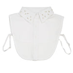 Laura White Collar Bib