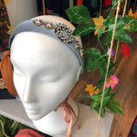 Grey Embellished Hairband