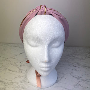 Pink Knotted Hairband