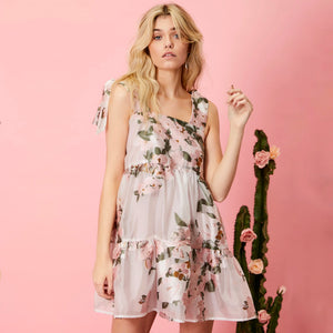 Likely Lady Floral Mini Dress