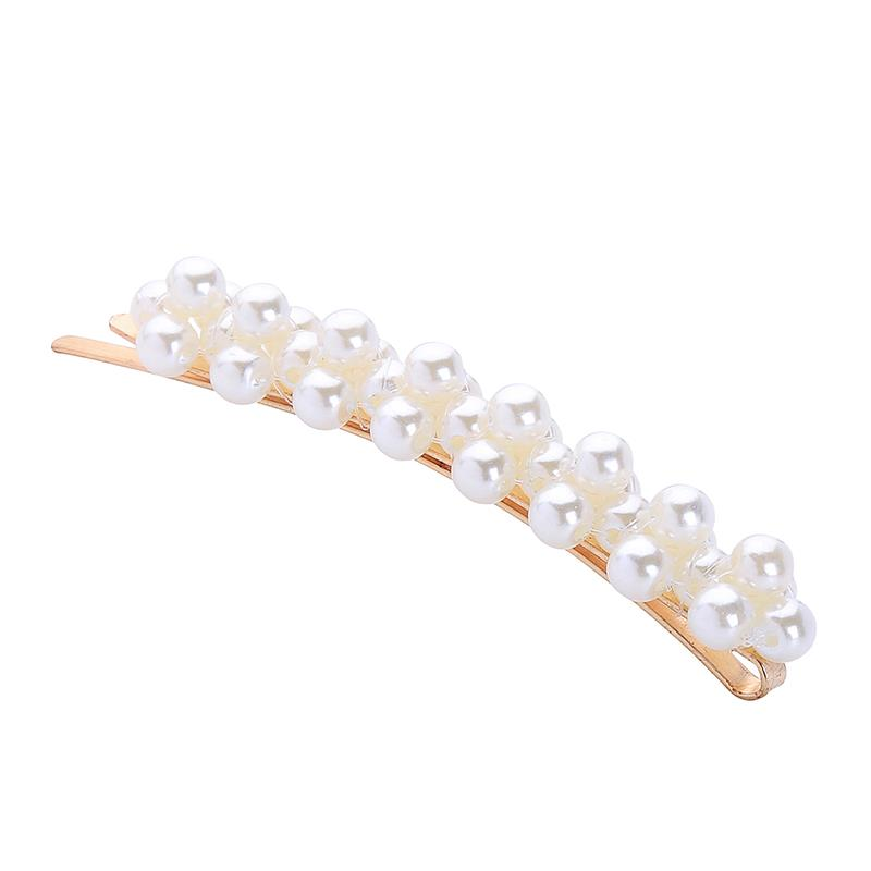 Pearl Gold Hair Slide