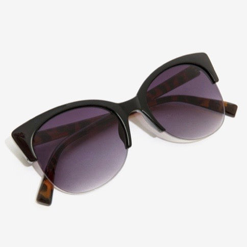 Tortoise Cat Eye Sunglasses
