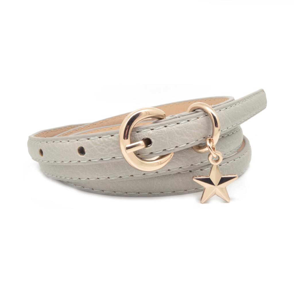 Grey Star Charm Belt