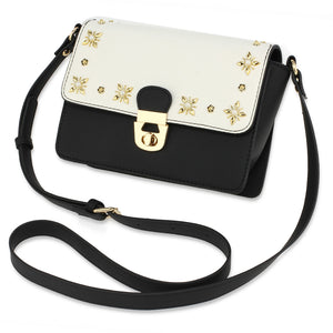 White and Black Star Cross-Body Bag | The Dresser Boutique Banbridge Northern Ireland