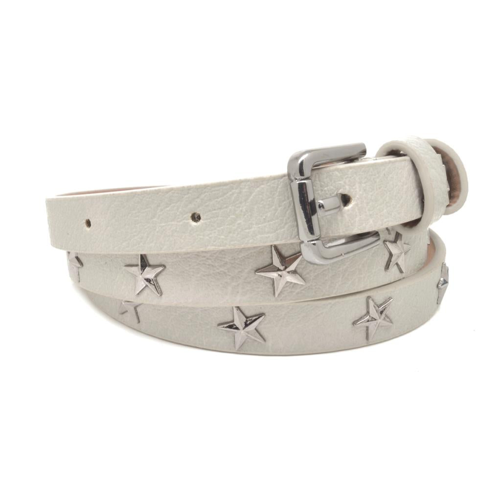 Grey Star Studded Belt
