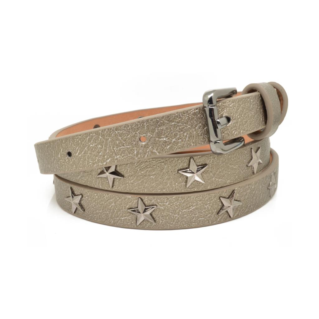 Bronze Star Studded Belt