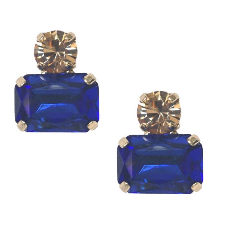 Royal Blue Twin Gem