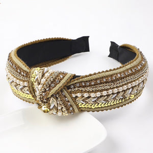 Bronze Jewelled Hairband