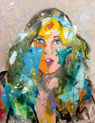 Wonder Woman - Pop Art 90x70cm