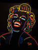 Marilyn Monroe #077 3D ChromaDepth Series - 90x70cm