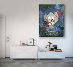 SOLD - Dont Be Fooled Tom And Jerry - 90x70cm