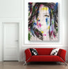 Untitled Nº113 Girl Faces Series - 90x70cm - Ready to Hang - Certificated