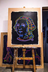 George Washington 3D Chroma Depth Painting 90x70cm