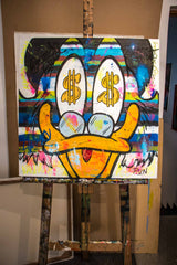 Its a Good Deal Mc Duck, (80x80cm)