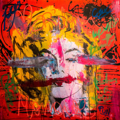 Marilyn Monroe Distortion Series